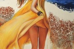 Suvi, suvi....,120x70 cm,õli, akrüül, lõuend2019