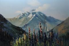 Mägi. 50x70 cm, õli, lõuend 2018 Hind 520 euro