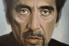 Al Pacino,60x80 cm,lõuend, õli2019