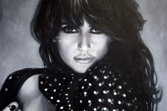 Penelope Cruz, 60x80 cm, õli, lõuend 2011