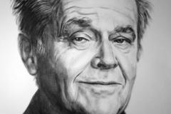 Jack Nikolson, 50x70 cm,paber, kuiiv pintsel2013