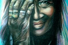 Ema armastus!50x70 cm,paber, pastell2014