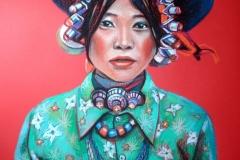 Rahvuslik,50x70 cm,pastell, paber2013
