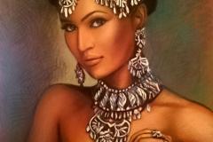 Idamaine ilu, 50x70 cm,pastell, paber2015