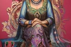 India jumalanna,70x100 cm,pastell, paber2016