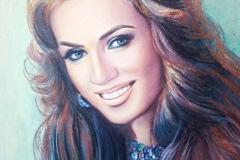 Anastasija,50x70 cm,pastell, paber