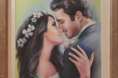 Romance,58x78 cm,pastell, paber2020