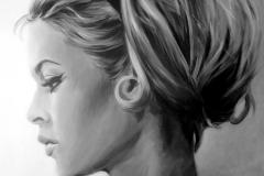 Briggitte Bardot,82x104 cm, akrüül, lõuend2011 Prices 1200.-€